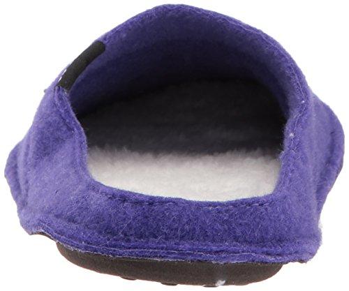 crocs Unisex-Erwachsene Classicslipper Pantoffeln, Schwarz (Black/Black 060), Various Ultraviolet/Oatmeal