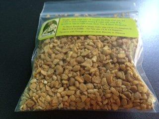Kombucha Dried herb Sampler: 22 g each ~ Ginger Root ~ Elder berry ~ Orange (Witchcraft Peel)