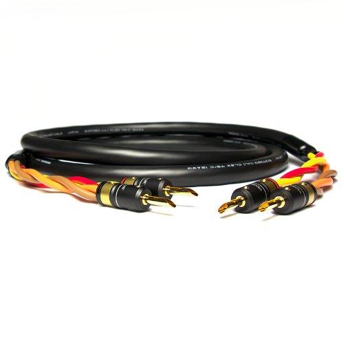 Mogami 3104 + ViaBlue T6s | Professional×High-End Hybrid スピーカーケーブル | シングルワイヤー | バナナプラグ (3m) B00F4TRUNM  3m