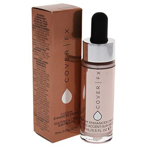 Cover FX Custom Enhancer Drops Highlighter, Celestial, 0.5 Ounce ()
