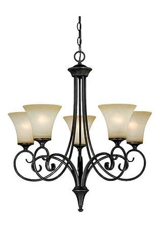 patriot lighting elegant home corinth 5 light dark forum patina with