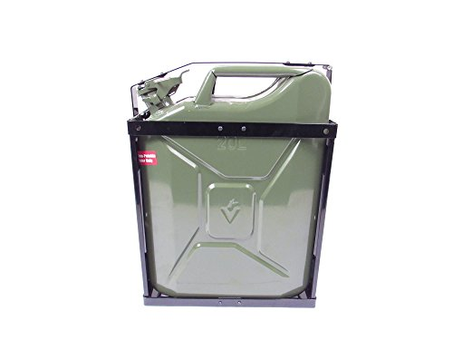 NATO Style Steel Jerry Can Holder for 20 Liter (5 Gal.) ()
