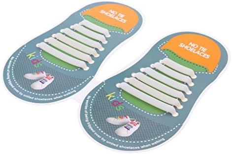 靴ひも 靴紐 結ばない 子供 シューケア シリコーン製 シューアクセサリー 全11カラー
