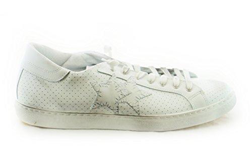 2su Bianco 18 1820 Pelle Pe Sneakers 2star AwRqt0Z
