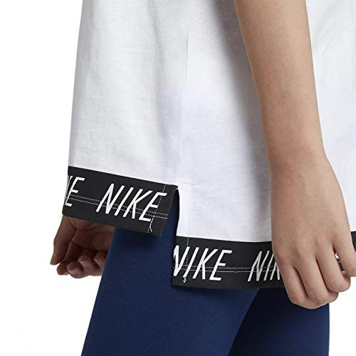 Fille Full blanc Veste Sportswear Nike Zip Capuche à vApnqw