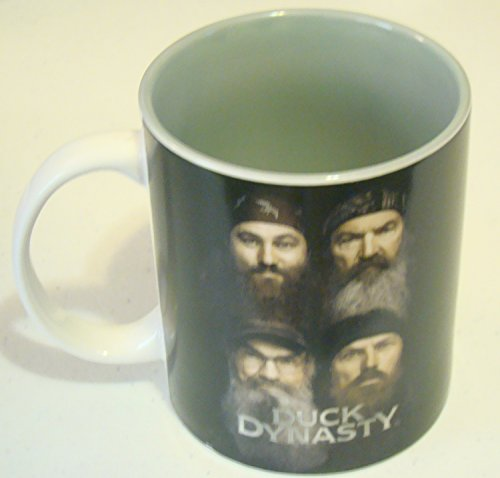 Duck Dynasty FACES Porcelain 15 Oz. Mug By Gibson