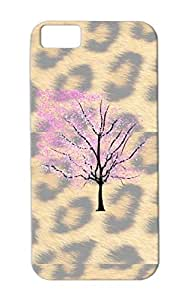 Shock Absorption CherryTree Pink Case For Iphone 5c Animals Nature Cherry Blossom Tree Flower Miscellaneous