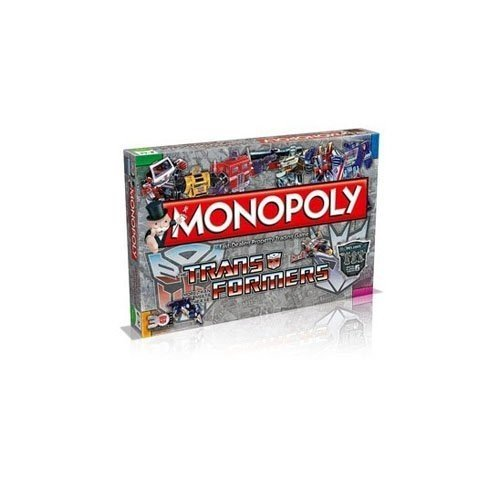 The Transformers Monopoly Family Game