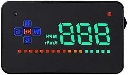 MASO HUD - Pantalla para coche, GPS y sistema de advertencia de ...