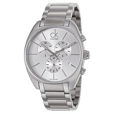 Calvin Klein Men's K2F27126 Exchange Analog Display Swiss Quartz Silver Watch