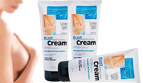 3 pcs Bust Contouring Cream 200ml Salon SPA collection Breast Cream Natural Dead Sea ()