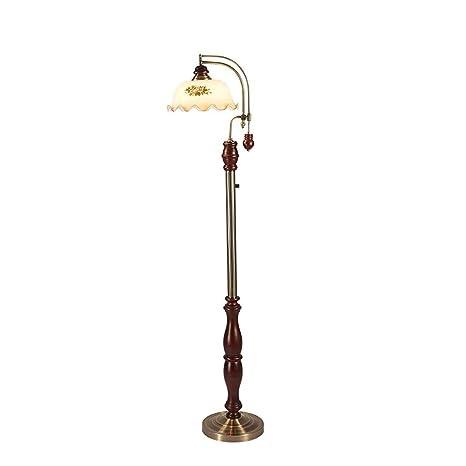 Lámpara de pie- ⛔LDD 155 cm Lámpara de pie rústica Sofá ...