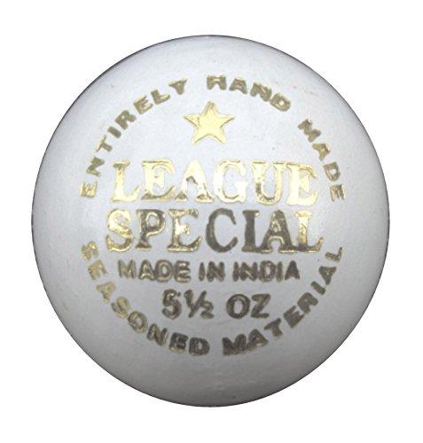 Ceela Sports League Special Cricket Ball  White  Size   Men