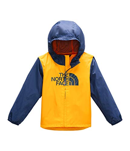 The North Face Kids Baby Boy's Flurry Wind Jacket (Toddler) Zinnia Orange 4T ()