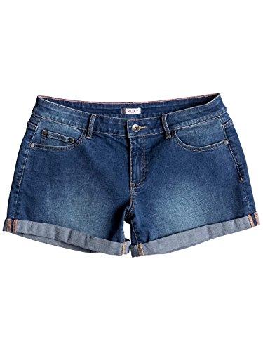 Roxy rollyup Rolly Up Denim–Pantalones cortos Dark Blue