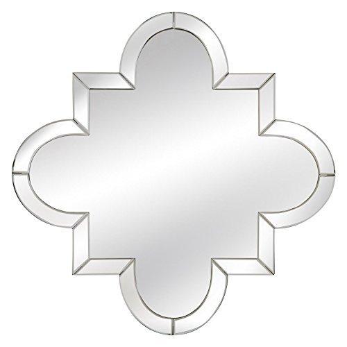 Bassett Mirror M3657EC Adira Wall Mirror, Clear