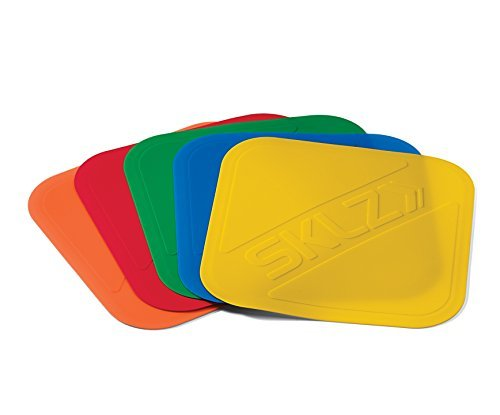 SKLZ Basketball Court Markers - Build spot-on footwork and quickness with these non-slip, multi-color markers.