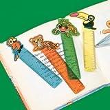 Fun Express Rainforest Friends Ruler Bookmarks (4 Dozen)