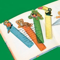 Price comparison product image Fun Express Rainforest Friends Ruler Bookmarks (4 Dozen)