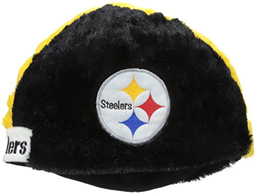 Gnome Steelers Pittsburgh (NFL Pittsburgh Steelers Cozy Helmet Hat, Black)