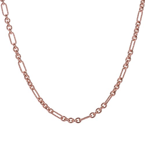 Carolyn Pollack Country Couture Sterling Silver Rose Gold Plated 36 Inches Chain ()