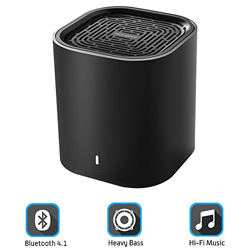 Speaker Portable – Mini Bluetooth Speaker w/Superior Clarity and Enhanced Heavy Bass, Powerful Big Sound Driver, 33Ft Wireless Range, Up to 6 Hours Playtime Premium Wireless Bluetooth Speak