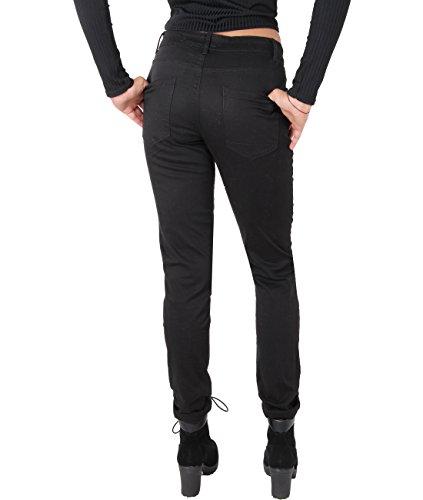 Schwarz Donna Jeans Pantaloni 6354 Caldi Casual Denim Krisp gdYaHxwY