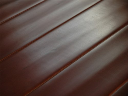 5 inch Greenland Multilayer Distressed Hand-Scraped Hardwood Maple Merlot Flooring (6 inch Sample) Merlot Hardwood Flooring