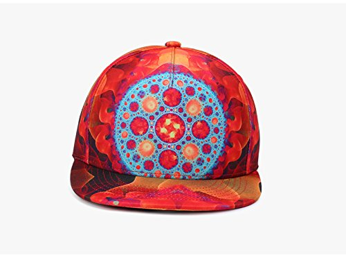 cap women Duck Trend hop Men tongue Printing Hip hop Graffiti Colored hats Cap Neutral Multi and Red Baseball hip Jie SxwpqcTcf