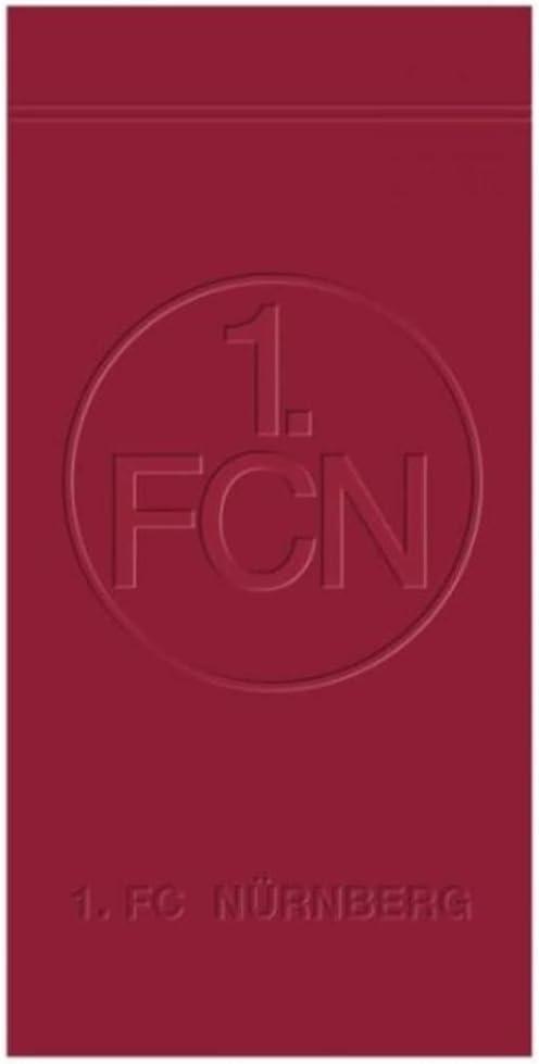 """FC Nürnberg Handtuch  /""""Emblem/"""" 50 x 100 cm 1"""