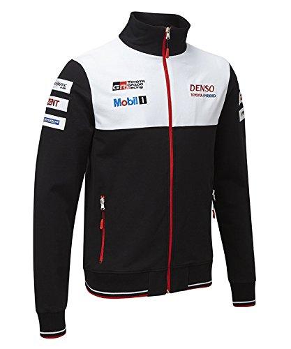 【【 TOYOTA】 トヨタ ガズー GAZOO WEC Racing B077D395QL Team WEC オフィシャル スウェットジャケット バージョン2 XXL身幅63cm着丈73cm B077D395QL, RUSH PLAZA(ラッシュプラザ):b5a9fb2c --- ijpba.info