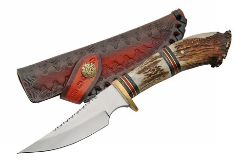 Szco Supplies Stag Crown Hunting Knife