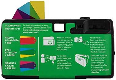 Lomography Simple Use Camera, Lomochrome Purple (suc100lc) 41XA60AK8UL