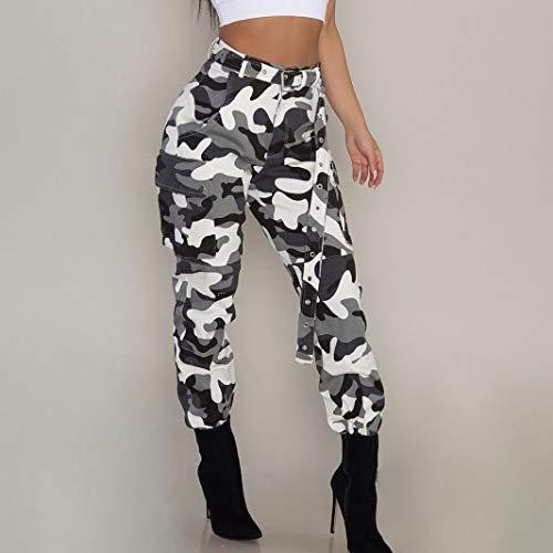 Survêtement Pantalons De Blanc Femmes Slim Jeans Basic Jogging CBedox