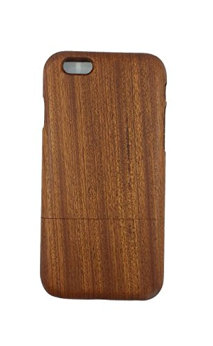 Unique Eco-Friendly 100% Hand-made Real Natural Wood/Bamboo Hard Shell Case for New iPhone 6 (GMWD-Iphone6-2)