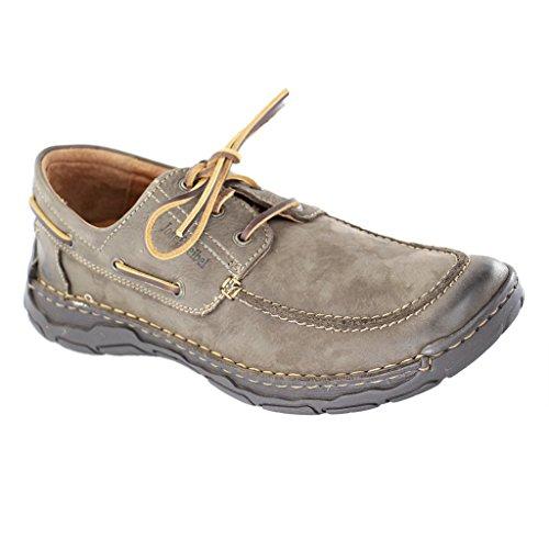 Josef Seibel Dominic 25106-81 - Zapatos casual de cuero para hombre Braun