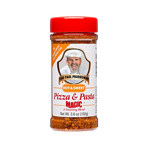 Chef Paul Magic Seasoning Blends Hot & Sweet Pizza & Pasta Magic, 3.6 oz