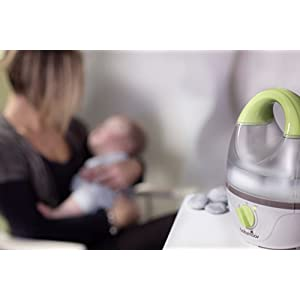 Babymoov Aquarium Humidifier - Easy to Use and Clean Quiet Cool Mist Humidifier with Automatic Shut-off