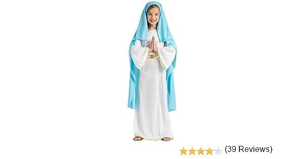 DISFRAZ VIRGEN MARIA TALLA 7-9: Amazon.es: Juguetes y juegos
