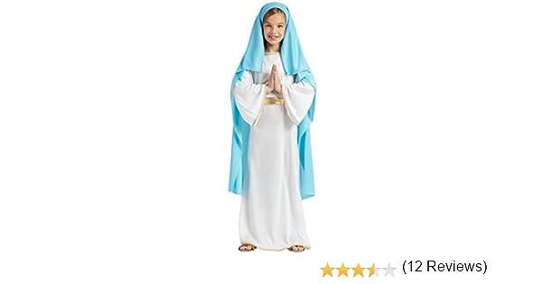 DISFRAZ VIRGEN MARIA TALLA 3-4: Amazon.es: Juguetes y juegos