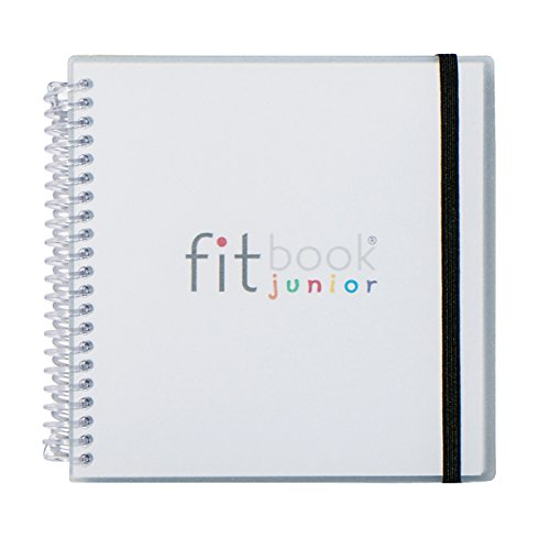 Fitlosophy Fitbook Junior: Interactive Journal to Teach Kids Goal Setting for an Active and Healthy Life (Interactive Notepad)