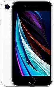 iPhone SE Branco, com Tela de 4,7, 4G, 64 GB e Câmera de 12 MP - MHGQ3BR/A&