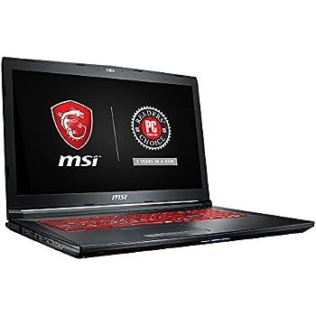 """MSI GL72M 7RDX-800 17.3"""" Performance Gaming Laptop i7-7700HQ GTX 1050 2G 8GB 128GB SSD+1TB SteelSeries Red KB"""