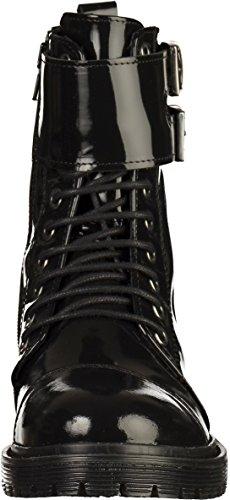 Bronx 47009-n Dames Enkellaars Zwart