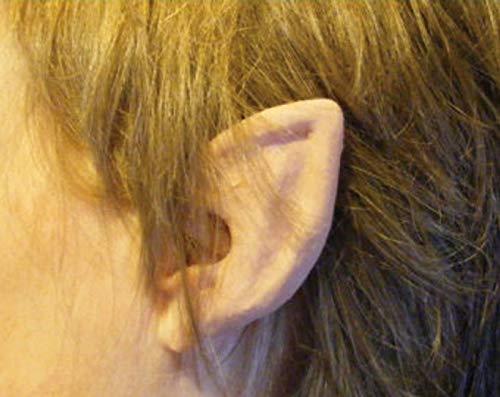 HMS Cosplay Flexi Ears Costume Accessory Short Elf Flesh -