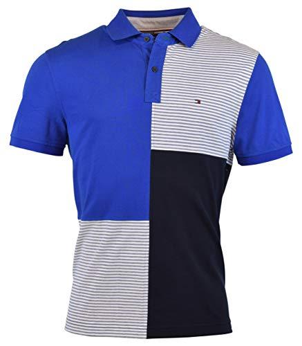 Tommy Hilfiger Men's Custom Fit Mesh Logo Polo Shirt - XL - ()