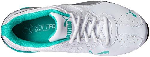 Puma Kvinders Tazon 6 Wn Fm Cross-trainer Sko Puma Hvid / Puma Sølv / Elektrisk Grøn GUbqbW