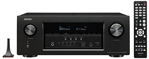 Denon AVR-S920W 7.2 Channel Full 4K Ultra HD AV Receiver with Bluetooth & WIFI