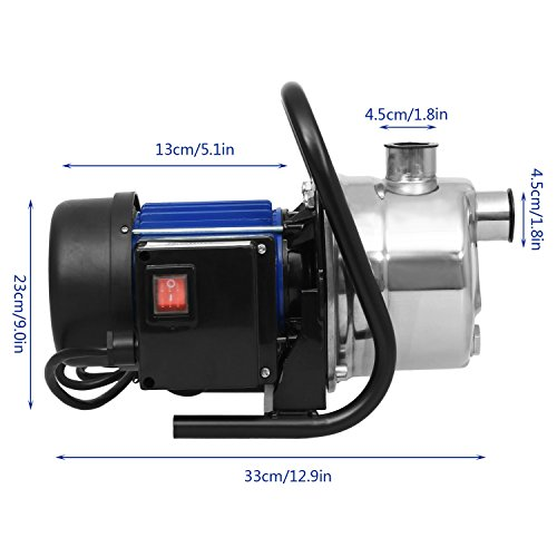 Professional Submersible Sump Pumps Dirty Clean Water Pump Utility Pump (US STOCK) (1.6 HP) by shaofu (Image #1)