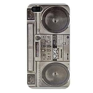 MOFY-Vintage Radio casete de cinta Registrador cubierta dura del caso para el iphone 5/5s